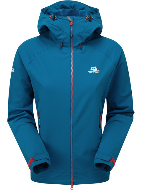 """Mountain Equipment W's Mission Jacket Lagoon Blue"""